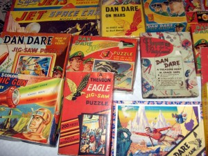 Dan Dare merchandise.