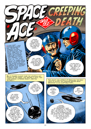Ron Turner's Space Ace Volume 3: Copyright © 2014 The Ron Turner Estate